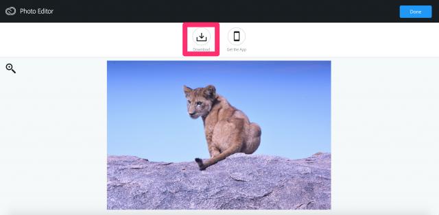 Aviaryの保存画面
