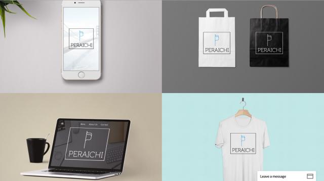 Tailor Brandsのロゴ使用イメージ画像
