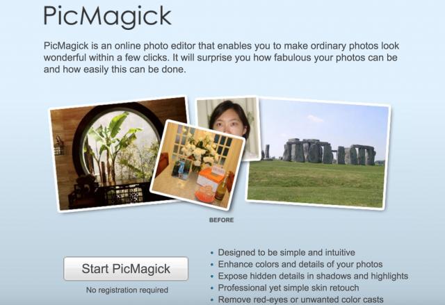 PicMagickのトップページ