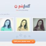 Picfullの使い方をご紹介!エフェクト加工ができる画像加工サイト
