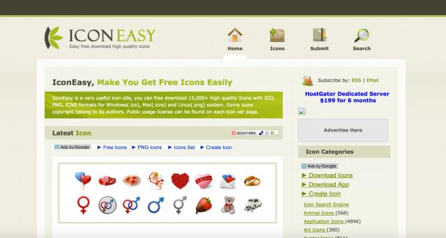 iconeasyのトップページ