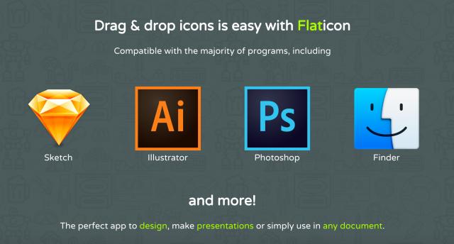 FLATICONのMac用アプリ