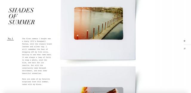 Edits Quarterly × Ian Coyleのサイト