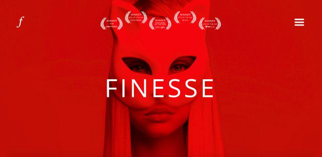 Finesse Design Atelierのサイト