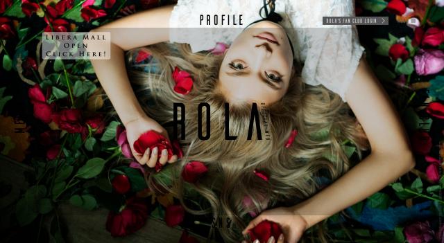 ローラのオフィシャルサイト