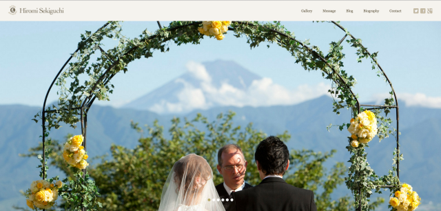 Hiromi Sekiguchiのサイト