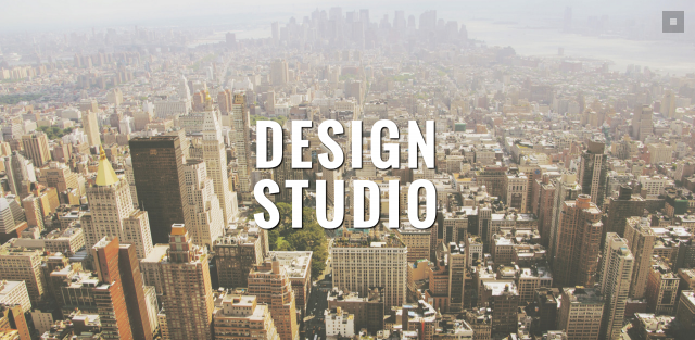 Studio – One Page Themeのサイト