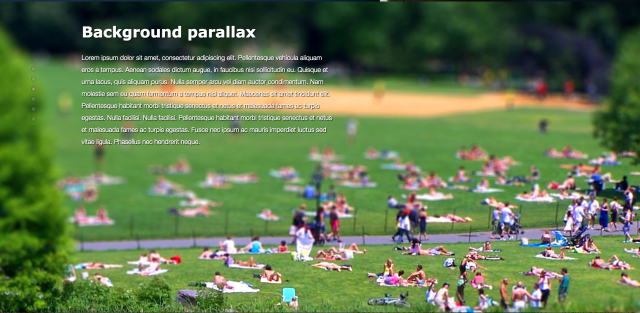 Parallax-JSのサイト