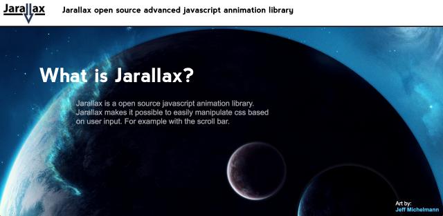 jarallaxのサイト