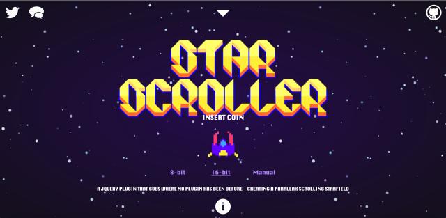 StarScrollのサイト