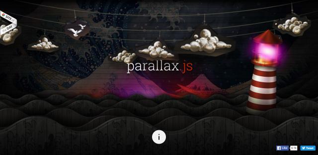 Parallax.jsのサイト