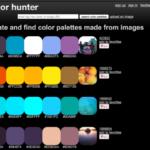 Color Hunterって?画像から色を抽出できるカラーパレット作成ツール