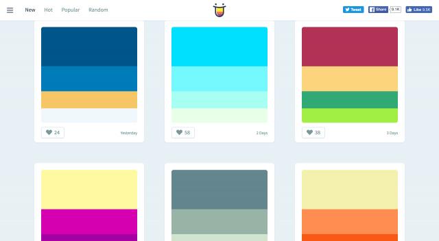 Color Huntのトップページ