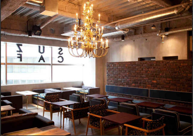 SUZU CAFE gems shibuya