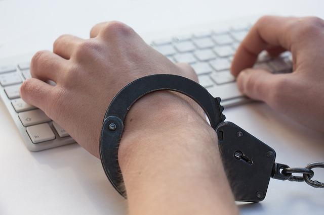 ネット活動で法に触れる