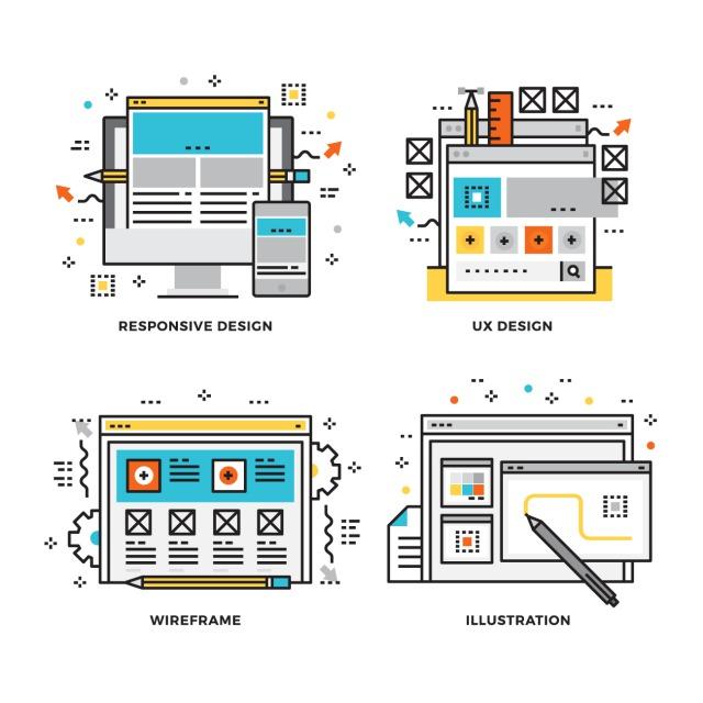 ホームページ制作過程